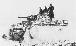 Panzer Mk III in North Africa
