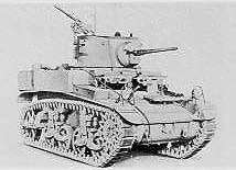 M3A1 Light Tank, known as Honey