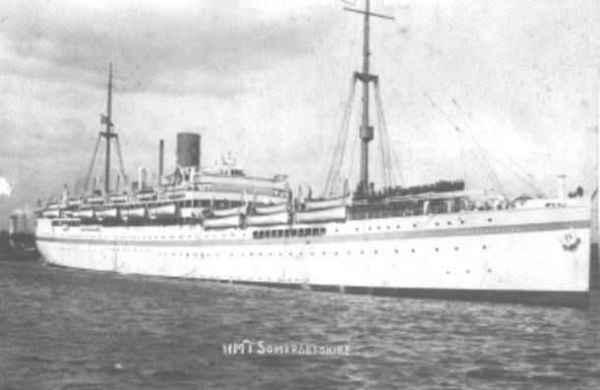 World War Ii Memories Life On A Troop Ship John Ernest Brown